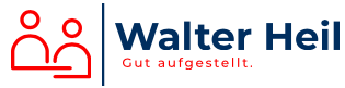 Walter Heil. Gut aufgestellt.